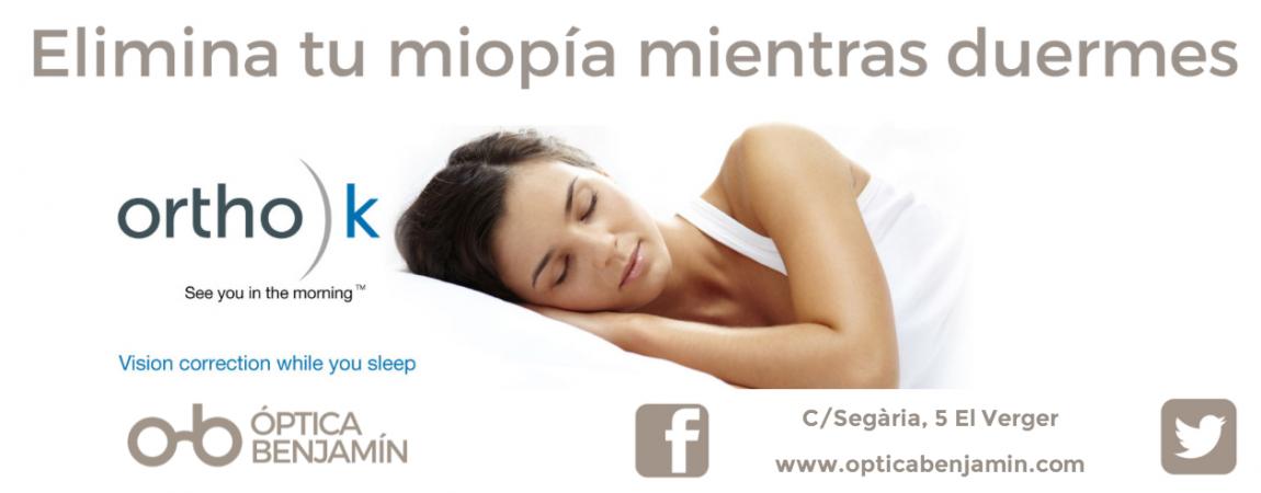 Foto Elimina tu miopía mientras duermes