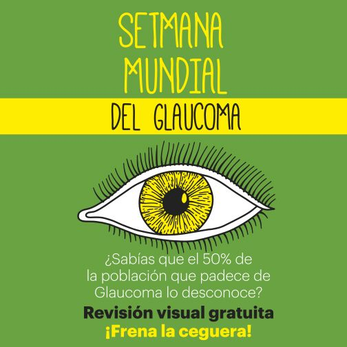 Foto Semana Mundial del Glaucoma